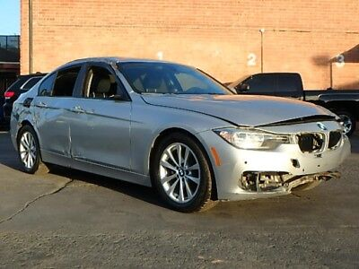 2016 BMW 3-Series 320i xDrive AWD 2016 BMW 320i xDrive AWD Salvage Repairable Luxurious Only 10K Mi Perfect Color!