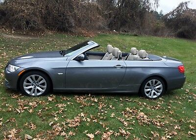 2011 BMW 3-Series Convertible with Navigation and Cold Weather Package BMW 3-Series Convertible  328 i Navigation and cold weather packages