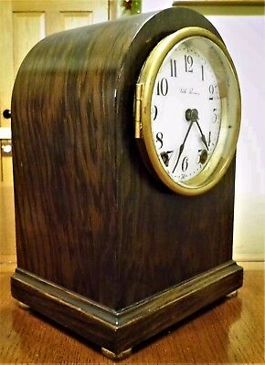 Antique Seth Thomas Small Mantle Clock – 8 Day T/S – Runs Great, keeps time.