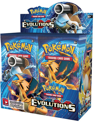 Pokemon XY Evolutions Booster Booster Box
