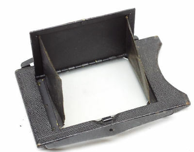 2x3 Camera Focus Panel Back with Glass Graflex? for Parts