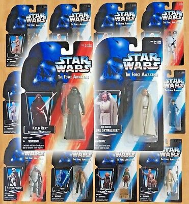Star Wars THE FORCE AWAKENS Vintage POTF2 Kenner Style Custom Carded 3.75 Figure