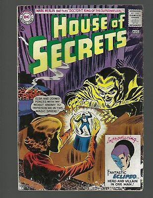 House Of Secrets #61 1st Eclipso