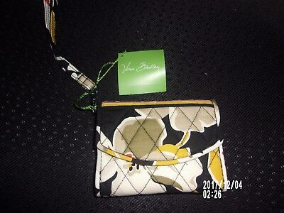 NWT Vera Bradley Dogwood Pattern Super Smart Wristlet Case New with Tag!