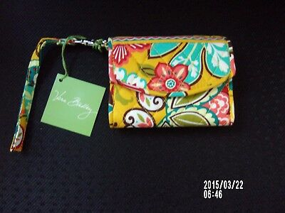 NWT Vera Bradley Provencal Pattern Super Smart Wristlet Case New with Tag!
