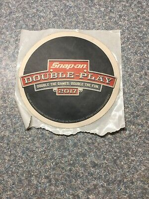 Snap On sticker decal promotion Double Play 2017