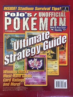 June 2000 Pojo's Pokemon News & Price Guide Monthly Magazine *RARE*VINTAGE*