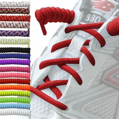 Curly Elastic Shoelaces No Tie Disability Mobility Aid Kids/Adult Shoe Laces