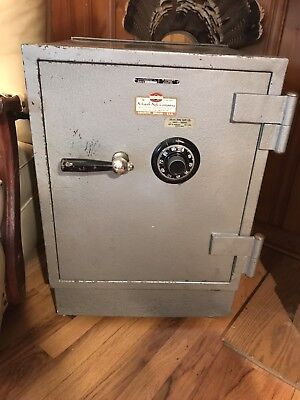 Vintage Schwab Combination Safe