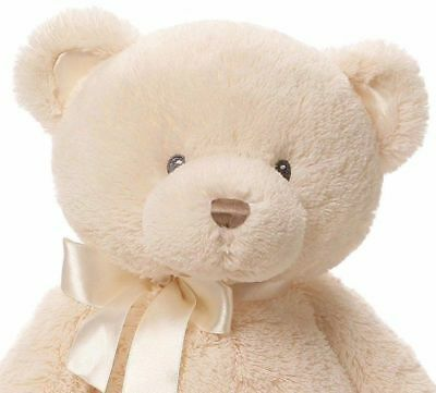 Plush White Teddy Bear - Stuffed Animal Kids Soft Toy Cuddly Christmas Gift