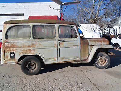 1950 Willys BASE 1950? WILLYS PANEL RAT ROD PROJECT PARTS!!