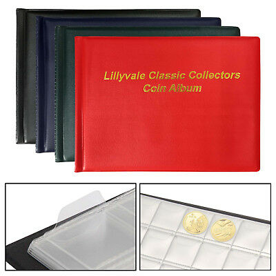 288 Collecting Coin Penny Money Storage Album Book Holder Case