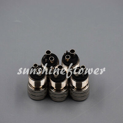 5 Pcs M4 to B2 For Handpiece Dental Adapter Tubing Change Connector Converter