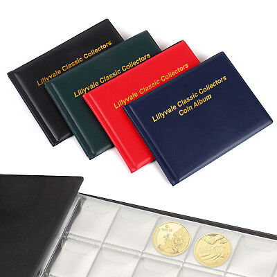 240 Collecting Coin Penny Money Storage Album Book Holder Case