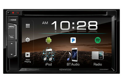NEW Kenwood DDX25BT 2 DIN DVD/CD Player Android iPhone App Pandora Bluetooth