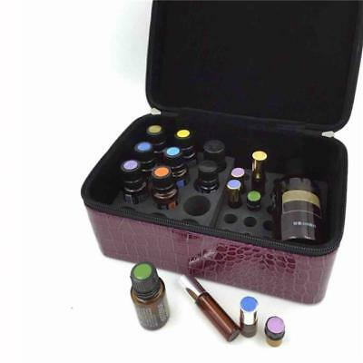 84 Bottles 2ml-15ml Essential Oils Carrying Case Protecting Bag Hold 2 Colors J
