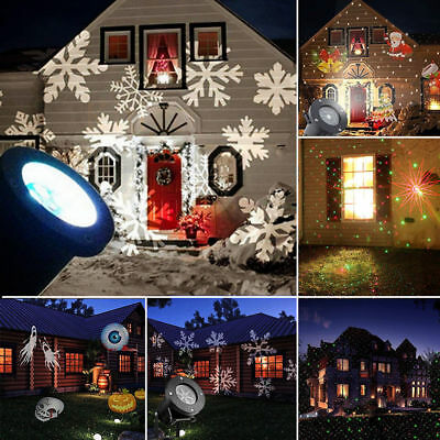 christmas decorations outdoor projector lights led projection snow show laser - Christmas Outdoor Projector