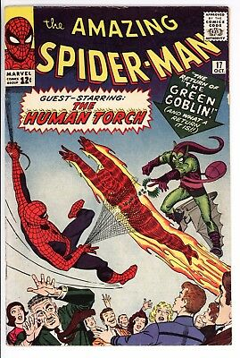 Amazing Spider-Man #17 Vol 1 Very High Grade 2nd Appearance of the Green Goblin