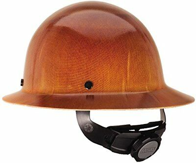 MSA 475407 Natural Tan Skullgard Hard Hat with FasTrac Suspension, NEW, NO TAX