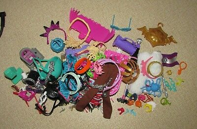 Bulk Lot of Monster High Doll Clothes & Accessories