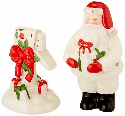 Countdown to Christmas Salt and Pepper Shaker Set Ivory