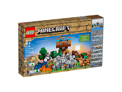 Brand New Lego Minecraft The Crafting Box 2.0 Sealed In Box 21135