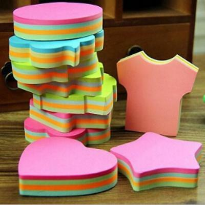 100Pages Sticker Post-It Bookmark Marker Memo Pad Flags Index Tab Sticky Note J