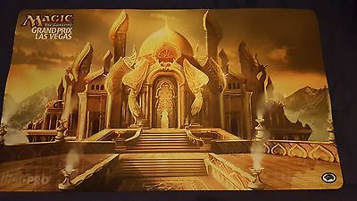 1x CITY OF BRASS PLAYMAT - GP LAS VEGAS - MTG Magic the Gathering