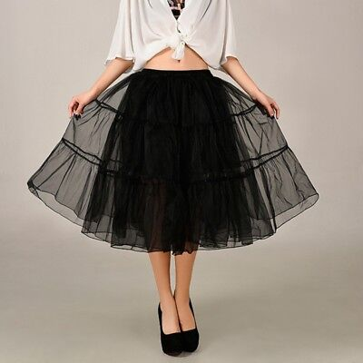 AU Vintage Women Tutu Dress Skirt Mini Ballet Pettiskirt Dancewear Skirts Gift