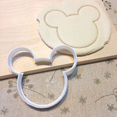 Mickey Mouse Cookie Cutter - Outline Fondant Cake Cupcake Topper Baby Shower