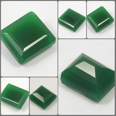 100% Natural Awesome Faceted Green Jade Gemstone RM8193-8240