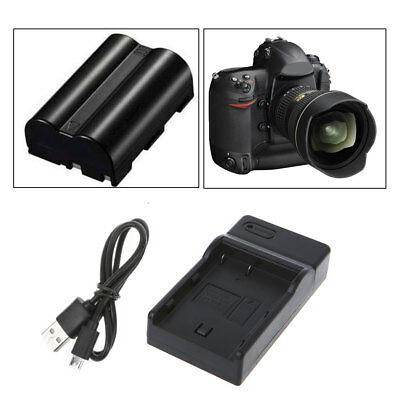 Battery Charger For Nikon EN-EL3 EN-EL3E  D100/100SLR/D50/D70/D70S/D200/D80/D90