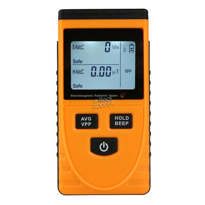 GM3120 Digital Electromagnetic Radiation Detector EMF Meter Dosimeter 3-1/2 LCD