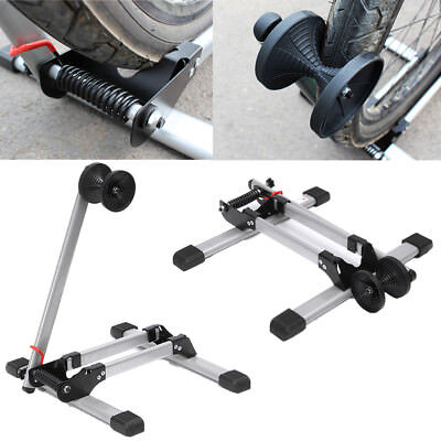 Bicycle Parking Frame Stand Rack Foldable Steel Mountain Bike Support Display