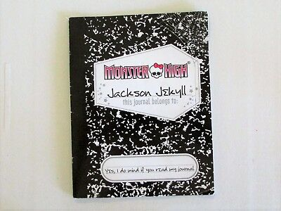 Diary from Monster High Signature Jackson Jekyll Doll