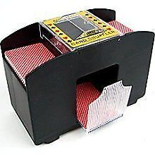 NEW Casino Deluxe Automatic 4 Deck Card Shuffler FREE SHIPPING