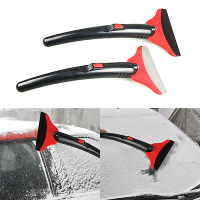 LED Car Vehicle Durable Snow Ice Scraper Snow Brush Shovel Removal For Winter