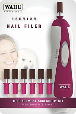 NEW Wahl Professional Animal Premium Nail Filer Replacement Kit #5961 200
