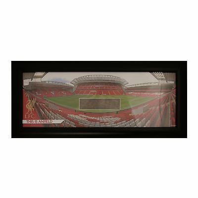 Liverpool FC LFC Panoramic Image Shot Anfield Stadium Grass Packed Official
