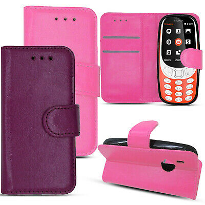 Shockproof Leather Wallet Card  Flip Stand Case Cover For New Nokia 3310 (2017)