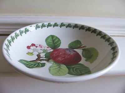 "Portmeirion Pomona Large 10"" Hoary Morning Apple Pasta/serving Bowl"