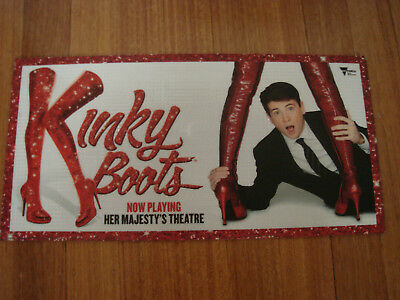 Kinky Boots Melbourne Stage Show Sign Poster