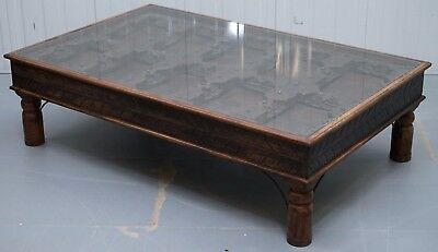 500+ Year Old 100% Original Chinese Monks Door Converted Coffee Table 102X162Cm