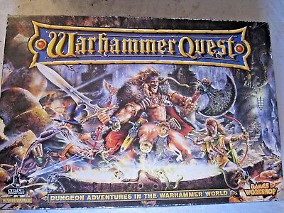 GW Warhammer Quest with Painted Miniatures