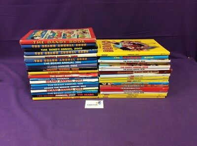 Job Lot of Beano and Dandy Annuals x36