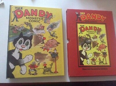 THE DANDY MONSTER COMIC Annual 1939  (Facsimile 2006) - Limited Edition FN
