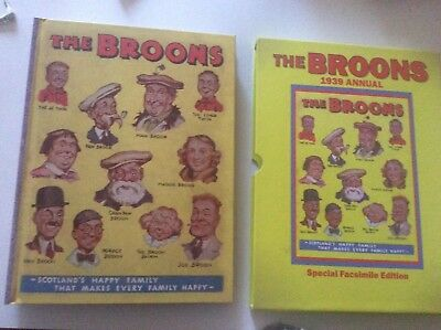 THE BROONS Annual 1939  (Facsimile 2006) - Limited Edition FN