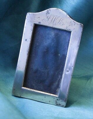 Small Antique Silver Picture Frame 1895 Neustadt Barnett (Hospiscare)
