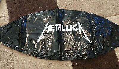 Rare Metallica Beach Ball Unused. Concert thrown into crowd this one a spare !!