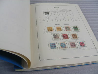 ICELAND, Advanced Stamp Collection mostly hinged in a Lighthouse paperback album